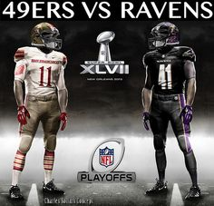 San Fransisco 49ers vs. Baltimore Ravens  Jim Harbaugh vs. John Harbaugh  Superbowl Matchup
