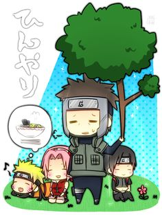 Awww. Look how cute and chibi they all are.