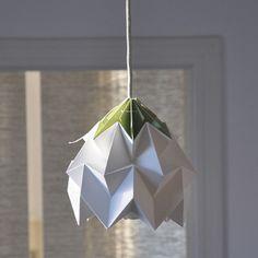 Lamp white/green