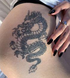 Chinesisches Drachentattoo - Tattoo-Ideen - tattoo old school tattoo arm tattoo tattoo tattoos tattoo antebrazo arm sleeve tattoo Hand Tattoos, Dope Tattoos, Best Sleeve Tattoos, Pretty Tattoos, Finger Tattoos, Tatoos, Arrow Tattoos, Gangsta Tattoos, Arabic Tattoos