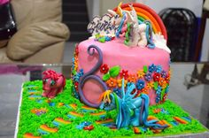 My Little Pony cake by pennynewe1714663 | Cake Decorating Ideas