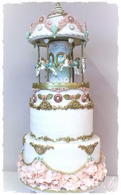 How to make a carousel cake tutorial 15  – Cake.bg