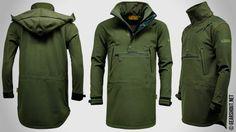 Game выпустила новую удлинённую софтшелл куртку анорак для охоты
