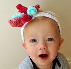 free crochet patterns: curlicue . . . and a crochet korker bow headband! | make handmade, crochet, craft