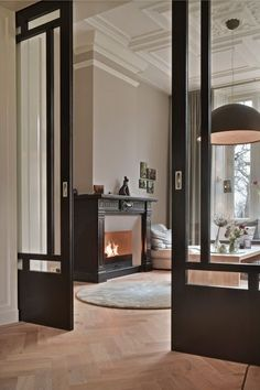 French Home Interior internal doors.French Home Interior internal doors Home Interior Design, Interior Decorating, Kitchen Interior, Luxury Interior, Interior Livingroom, Interior Barn Doors, Exterior Doors, Rustic Exterior, Interior Sliding Glass Doors