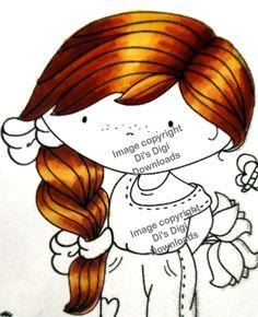 Vixykins: 2012 Promarker Tutorials - 1 - Red Hair