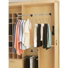 Pull Down Closet Rod Systems