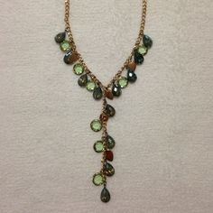 """Selling this """"NEW LISTING Sparkly Crystal Y Necklace"""" in my Poshmark closet! My username is: mtnoonan. #shopmycloset #poshmark #fashion #shopping #style #forsale #Jewelry"""