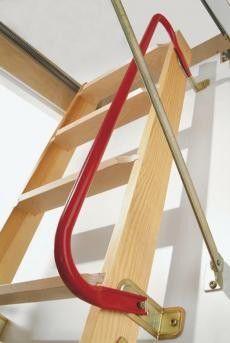 Metal Handrail for Dolle Loft Ladders # £23.95 (Inc VAT & UK Mainland Delivery)