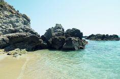 Grotticelle Beach Capo Vaticano.