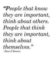 Important people.  #quotes