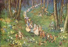 fairy-ish: Fairy Way by Margaret Tarrant