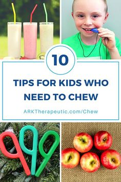 ARK Therapeutic: Tips  Strategies for Kids  Adults Who Need to Chew. Pinned by SOS Inc. Resources. Follow all our boards at pinterest.com/sostherapy/ for therapy resources.