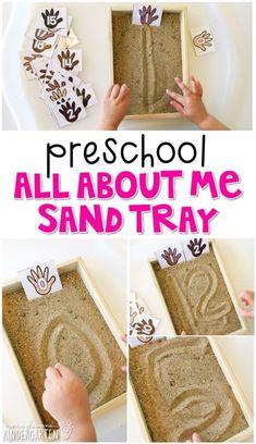 Preschool: All About Me {Plans and Printables} - Mrs. Plemons' Kindergarten