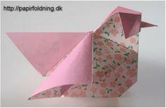 O QUE É MEU É NOSSO: Origami - Galinha (Hen - Hønemor) - Simon Andersen  ( Video)