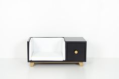 Chester is a comfortable bedding with a drawer for your pet`s stuff. #dog #dogs #furniture #interior