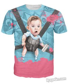 Baby Mischief T-Shirt - RageOn! - The World's Largest All-Over-Print Online Store