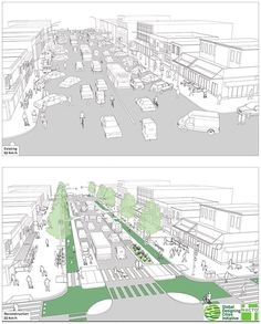 """We as architecture students like to use the term """"activate"""". however, how do we make sure people will be using the space as you have in your mind? Urban Design Concept, Urban Design Diagram, Urban Design Plan, Urban Landscape, Landscape Design, Landscape Steps, Street Design, Landscape Architecture, Architecture Design"""