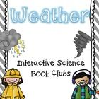 This packet contains (6) science interactive book club packets. Topics include: Floods, Tornadoes, Hurricanes, Lightning, Blizzard, and the Water C...$