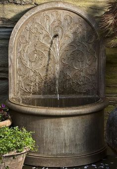 With it's European charm and elegant design, the Corsini Water Fountain brings the relaxing sounds of cascading water to your outdoor space.