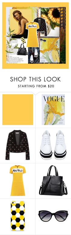 """Sunny fall day..............."" by style-stories ❤ liked on Polyvore featuring Art for Life, STELLA McCARTNEY, Carven and La Perla"