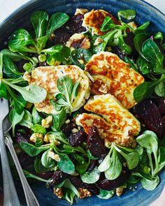 Halloumi, Skinny Recipes, Paella, Side Dishes, Ethnic Recipes, Food, Low Calorie Recipes, Eten, Diet Recipes