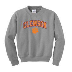 Clemson Crewneck Sweatshirt ($28.00)   style   Pinterest ...