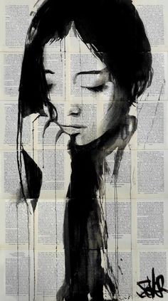 "Saatchi Art Artist Loui Jover; Drawing, ""cloudy sky... ((SOLD))"" #art"