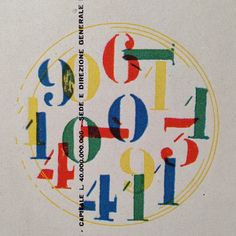 Wonderful Numeral composition #typography #internationaltypography #design #graphicdesign by Thinking Form, via Flickr