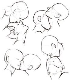 30 Trendy Ideas For Drawing Poses Kiss Art Reference Drawing Base, Figure Drawing, Drawing Drawing, Neck Drawing, Profile Drawing, Female Drawing, Drawing Studies, Gesture Drawing, Art Drawings Sketches