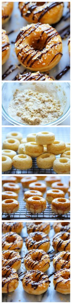 Mini Samoa Donuts - The Girl Scout favorite is turned into an irresistible mini donut form. And it tastes so much better than the original!