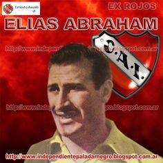 I   ELIAS ABRAHAM     Arquero de Independiente (1952-59). Jugó 110 partidos.                Nació el 8 de junio de 1930 en Pérez, Pcia...