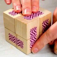 Diy Crafts Hacks, Diy Crafts For Gifts, Diy Home Crafts, Creative Crafts, Crafts For Kids, Kids Diy, Cool Paper Crafts, Paper Crafts Origami, Diy Gifts Videos