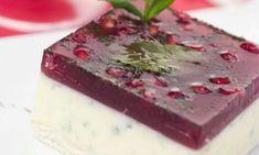 Receta de Tarta fría de yogur y granada