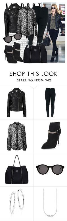 """""""533. Airport Style"""" by slovak-queen1997 ❤ liked on Polyvore featuring Witchery, Yves Saint Laurent, Roxy, Thierry Lasry, Gucci, Thomas Sabo, GetTheLook, black, celebrity and airportstyle"""