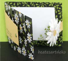 Step Card, Suit And Tie, Meadow Flowers, Book Folding, Cash Gifts, Gift Cards, Projects