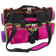 Yoga - Multi Functional Sports Carrying Bag - Fitness - Pilates - Fashionable - Waterproof - 2 Colors - Shoulder and hand Strap