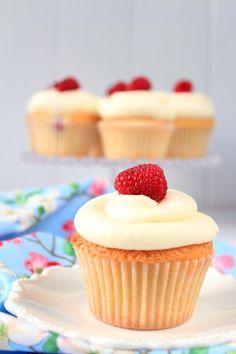 Postreadicción: Cupcakes de limón y frambuesa