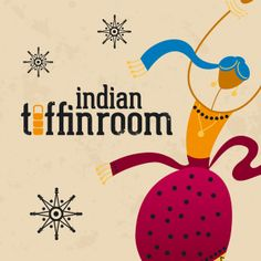 Indian Street Food, Branding for Indian Tiffin Room Restaurant - www.theagencycreative.co.uk