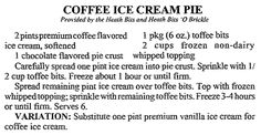 """Coffee Ice Cream Pie recipe, published in the Arkansas Democrat newspaper (Little Rock, Arkansas), 11 March 1992. Read more on the GenealogyBank blog: """"Celebrating National Ice Cream Day: You Scream for Ice Cream."""" https://blog.genealogybank.com/celebrating-national-ice-cream-day-you-scream-for-ice-cream.html"""