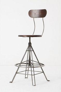 drafting stool / Anthropologie