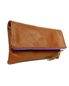 Beautiful fold-over clutches from K.Slademade on Etsy.