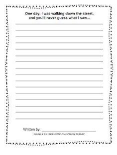 3rd Grade Writing Prompts, Narrative Writing Prompts, Third Grade Writing, Writing Prompts For Kids, Picture Writing Prompts, Writing Lessons, Kids Writing, Teaching Writing, Writing Activities