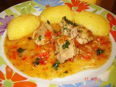 Pui cu usturoi – La Ancuta Soup Recipes, Chicken Recipes, Cooking Recipes, Healthy Recipes, Romania Food, Lebanese Recipes, Soul Food, Food To Make, Main Dishes