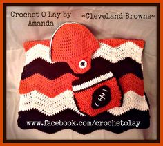 Men's Cleveland Browns '47 Brand Brown/Orange Cedarwood Knit Cuffed Hat