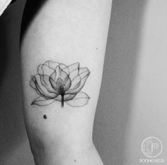 X-Ray flower by Karry Ka-Ying Poon #armtattoos