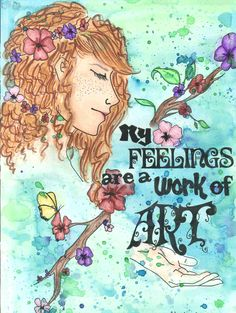 My Feelings are a Work of Art    Idaho Federation of Families for Children's Mental Health