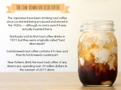 Food – Awesome Iced Coffees That Will Get You Ready For Summer Cold Brew Iced Coffee, Iced Coffee Drinks, Coffee Latte, Coffee Shop, Surf Coffee, Lime Soda, Recipes From Heaven, Cold Meals, Smoothie Drinks