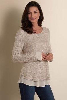 Tunic Sweaters, Sweaters To Wear With Leggings | Soft Surroundings