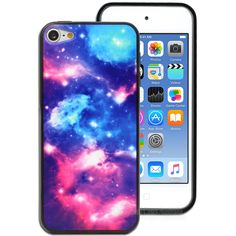 Galaxy Stars Printed Hard Back Case for Apple iPod Touch 6 6th Gen ...